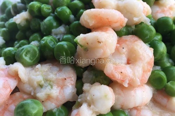 豌豆清炒虾仁