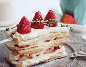 草莓拿破仑[图]