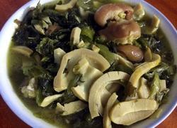 鲜笋咸菜炖猪蹄
