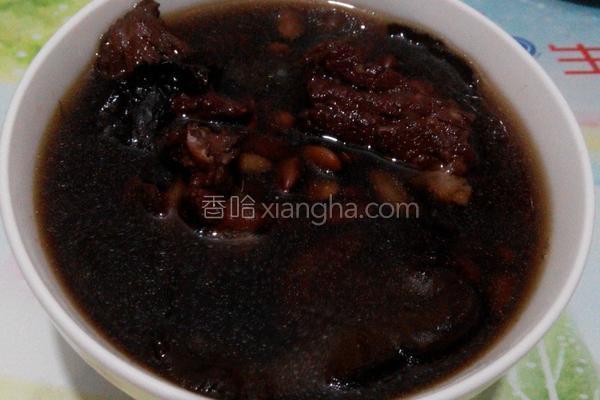 生地熟地排骨汤_生地熟地黑豆汤的做法_菜谱_香哈网