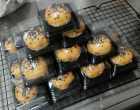 芝麻蛋黄酥