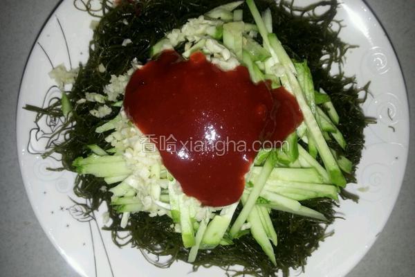 凉拌龙须菜