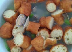 花蛤丝瓜油条汤圆