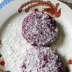 紫薯蔬菜虾仁饼