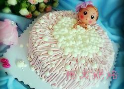 泡泡浴芭比娃娃蛋糕