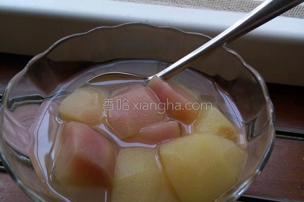 桃罐头的做法