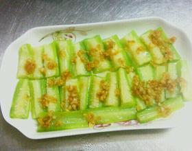 蒜蓉蒸丝瓜