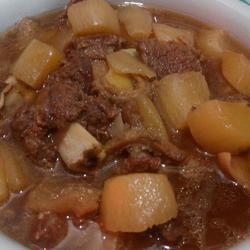 萝卜煲牛杂