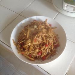 杏狍菇炒肉