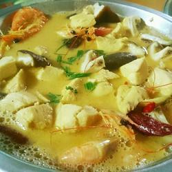 泰国椰奶鸡肉汤