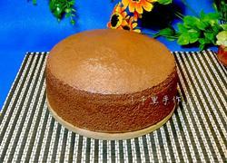 可可戚風蛋糕