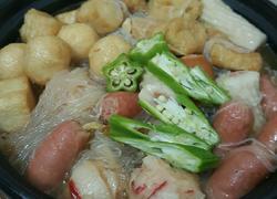 白菜粉丝杂锦煲