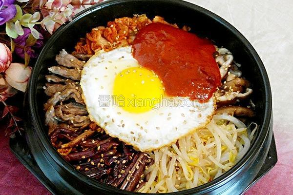 韩式石锅拌饭