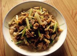 蛤蜊炒芹菜(原创)