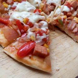 不用烤箱做披萨(平底锅,电饼铛齐上阵)