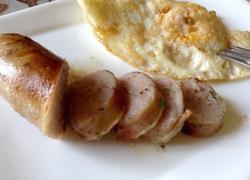 自制德式纽伦堡风味猪肉肠