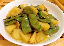 扁豆烧土豆