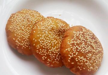 糯米南瓜饼