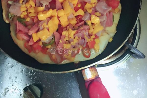 中式平锅比萨