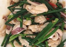 韭菜鱿鱼丝