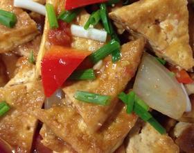 西红柿烧油豆腐