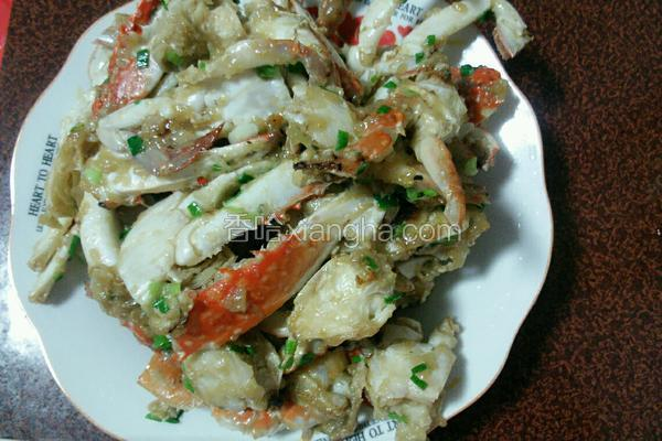 淀粉滚螃蟹