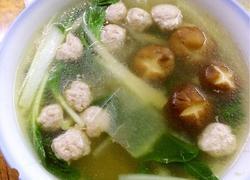 丸子蔬菜汤