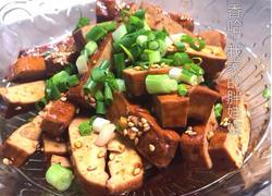 凉拌卤豆腐