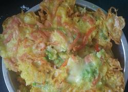 蔬菜火腿鸡蛋饼