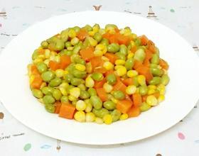三色蔬菜丁