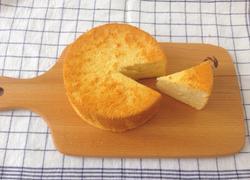 蜂蜜戚风蛋糕(6寸)