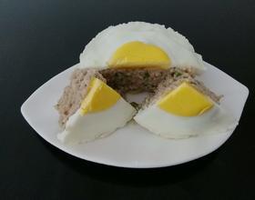 肉蒸鸡蛋糕[图]