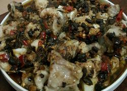 剁椒豆豉蒸排骨