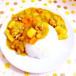鸡肉咖喱饭