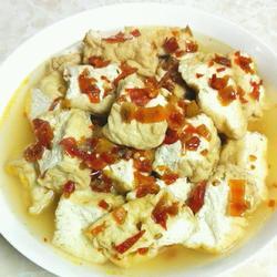 剁椒蒸山水豆腐