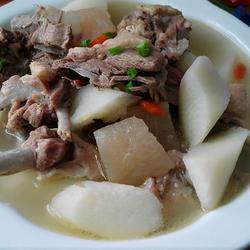 酸萝卜老鸭汤的做法[图]