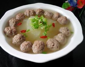 冬瓜丸子汤[图]