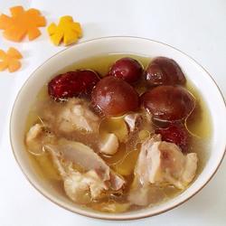鲜菇红枣鸡汤的做法[图]