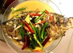 红烧水煮福寿鱼