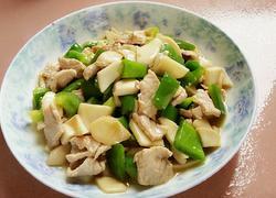 甜椒杏鲍菇肉片