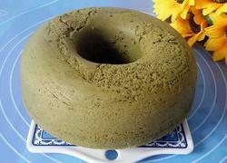 健康酸奶抹茶蛋糕圈