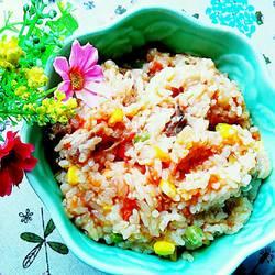番茄什锦焖饭