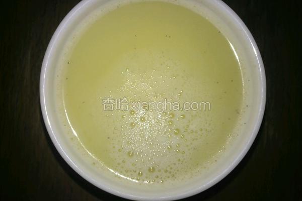 新鲜黄豆浆