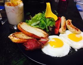 美式营养健康早餐