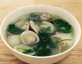 冬瓜蛤蜊排骨汤