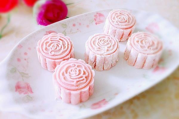果味冰皮月饼