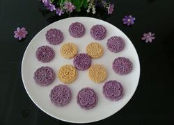 南瓜饼,紫薯饼