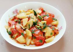 西红杮烧土豆