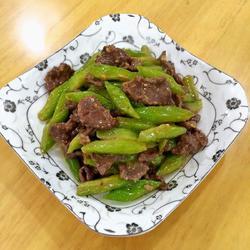 牛肉炒苦瓜的做法[图]