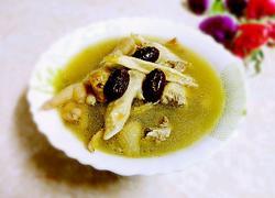 板栗煲鸡汤